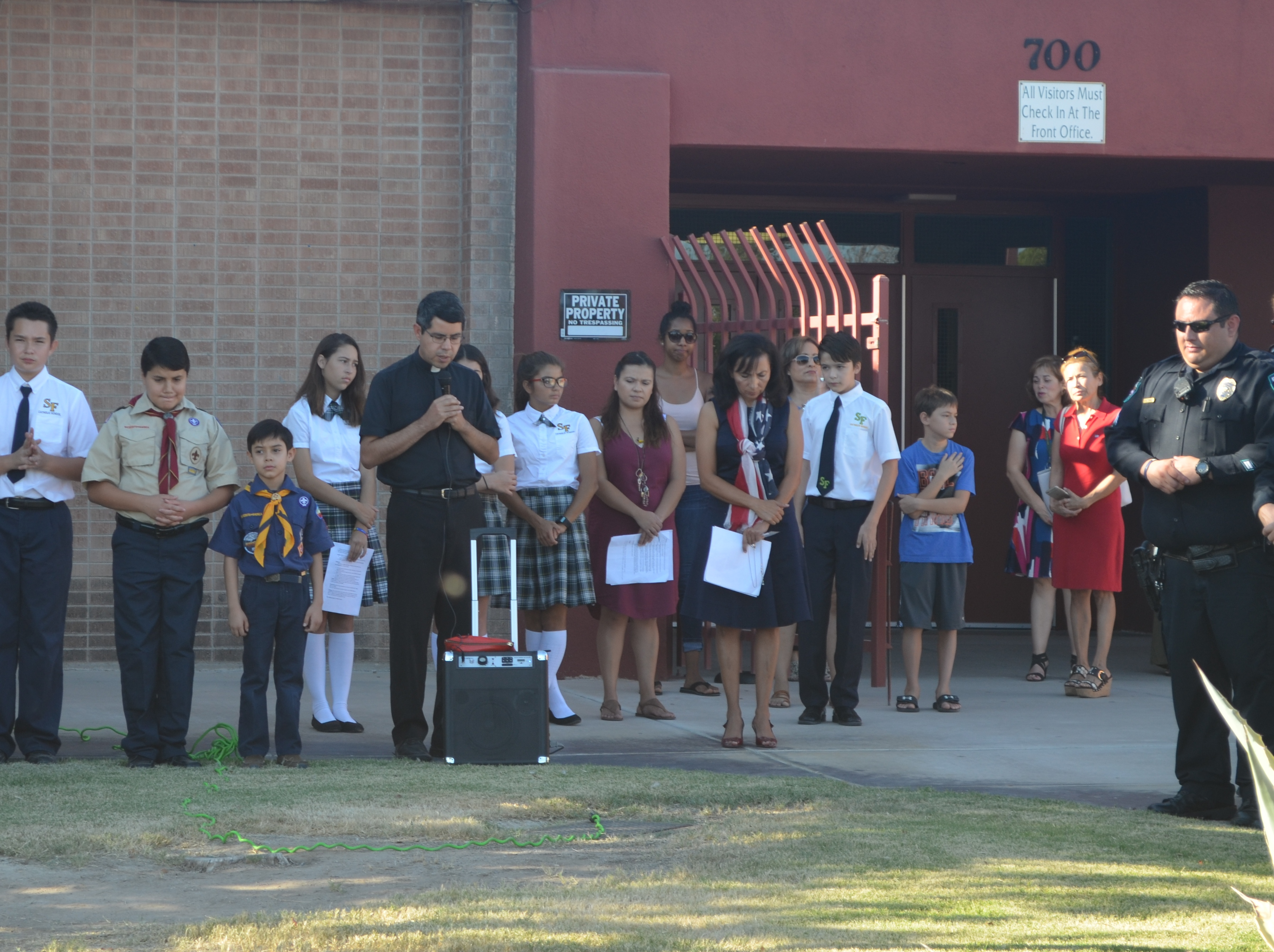 Gallery | St Francis of Assisi Catholic School Raising Ceremony