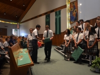 Farewell Mass For Our 8th Graders