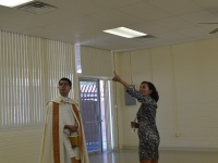 Blessing Our New Preschool!